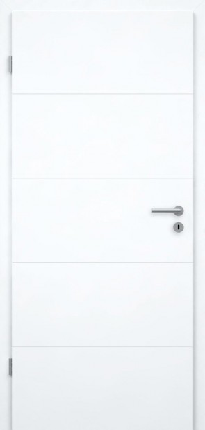 Designtür Superweiß | Roma GA5