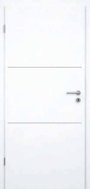 Lisenentür Superweiß RAL9003 - L3