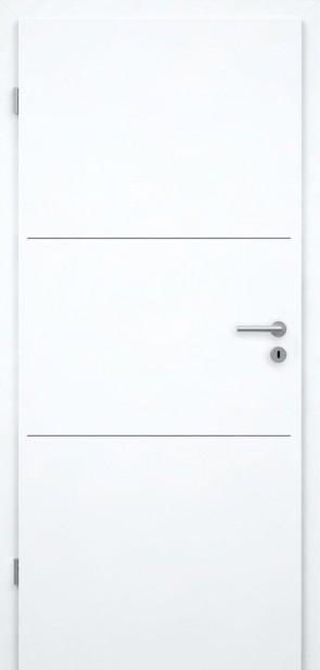 Tür Weißlack CPL | Lisene L3