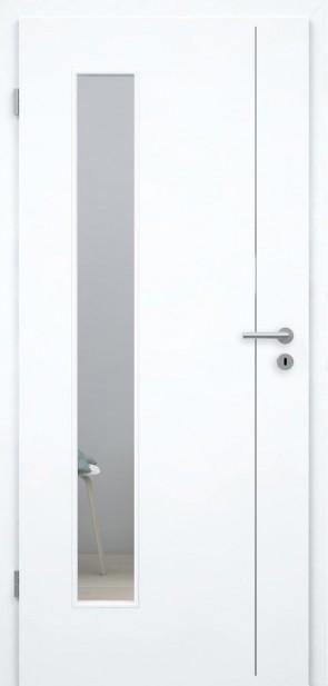 Tür Weißlack 9010 CPL (L4 LA008B)