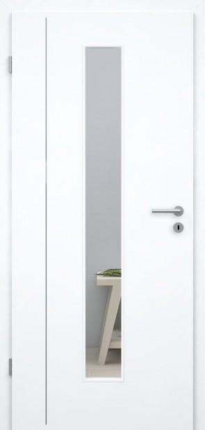 Tür Weißlack 9010 CPL (L4 LA008M)