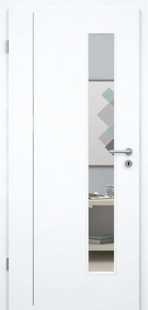 Tür Weißlack 9010 CPL (L4 LA008S)