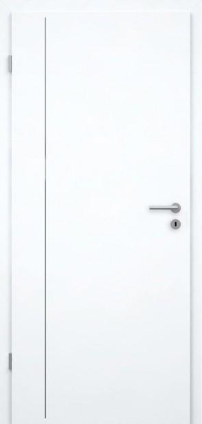 Tür Weißlack CPL | Lisene L4