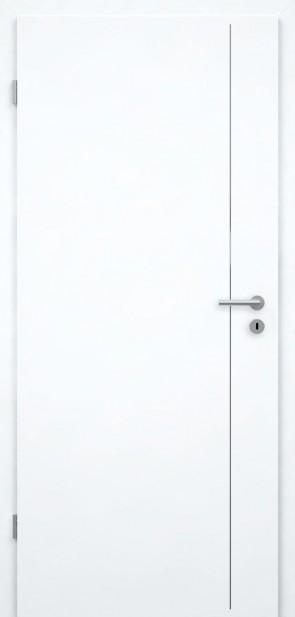 Tür Weißlack CPL | Lisene L5