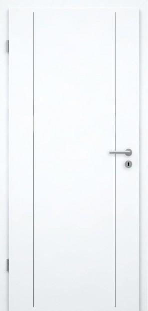 Tür Weißlack CPL | Lisene L6