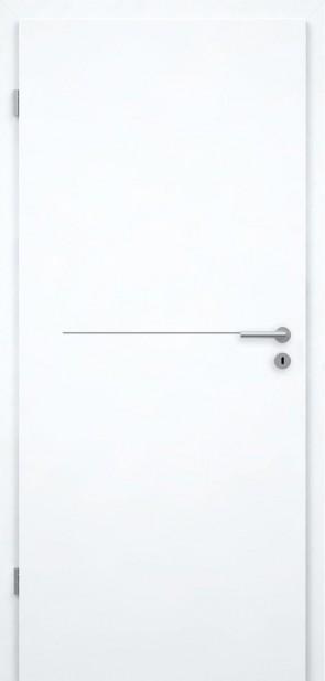 Tür Weißlack CPL | Lisene L7