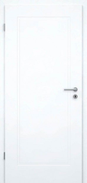 Weiße Tür mit Füllungen (Berlin 1G)