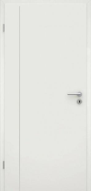 Tür Weißlack RAL 9010 Lisene L4