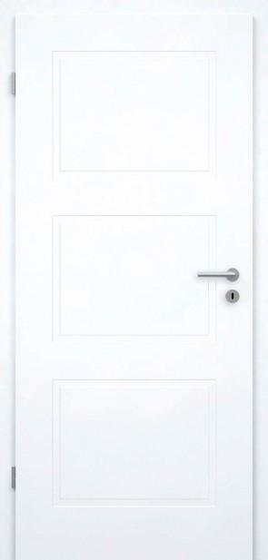 Weiße Tür mit Füllungen (Berlin 3G)