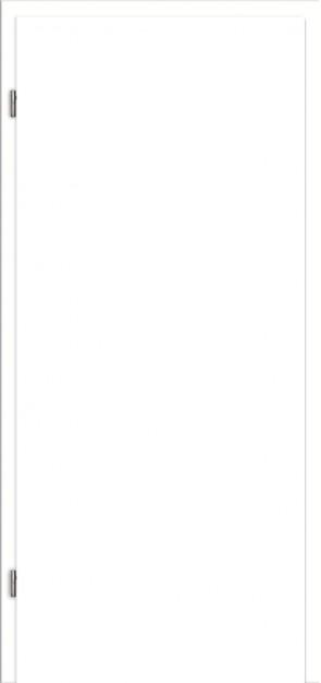 WE-Zarge Uni Weiß Designkante