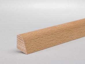 Sockelleiste Vorsatzleiste Viertelstab Buche gedämpft 18mm x 14mm