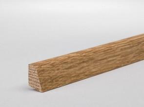 Vorsatzleiste Eiche Massivholz 15 mm x 9 mm