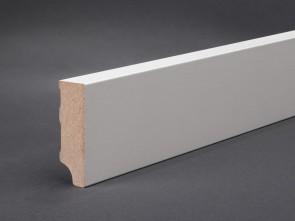 Wagner Sockelleiste Weiß 60 x 20 mm mit Oberkante gerade (MDF)
