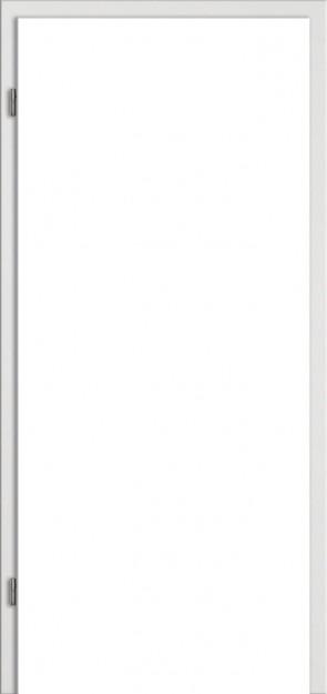 WE-Zarge Uni Grau Designkante