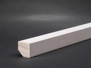Fußleisten Weiß Holz weiße sockelleisten holz mdf günstig kaufen türenfuxx