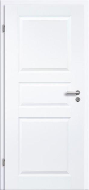 Tür Weißlack Rundkante 3G