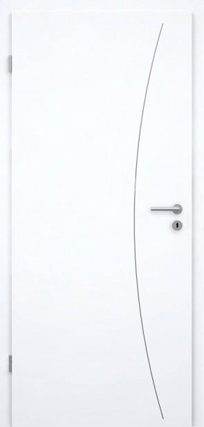 Lisenentür Superweiß RAL9003 - L9