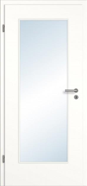CPL Tür Lichtausschnitt / Weiß