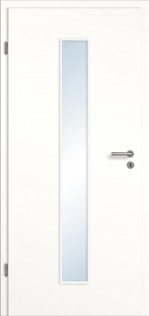 Weiße CPL Tür Lichtausschnitt