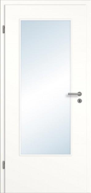 Zimmertüren weiß günstig  Weiße CPL Zimmertüren - günstige Innentüren mit Zarge vom ...