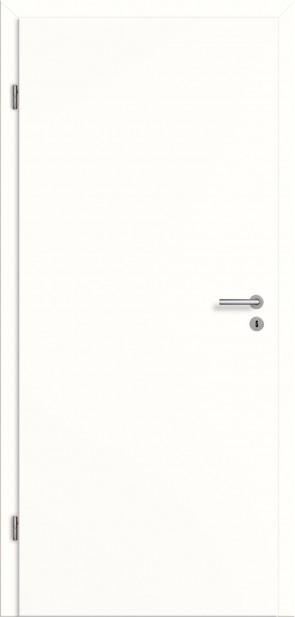 CPL Zimmertür mit Zarge / Weiß