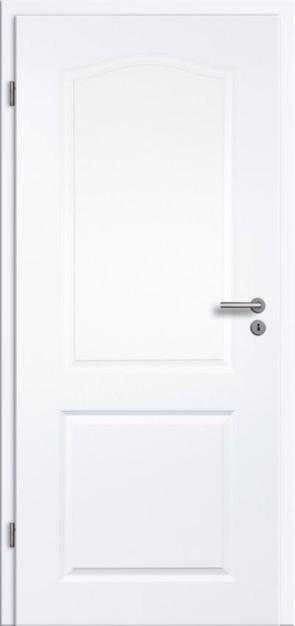 Tür Weißlack Rundkante 2KB