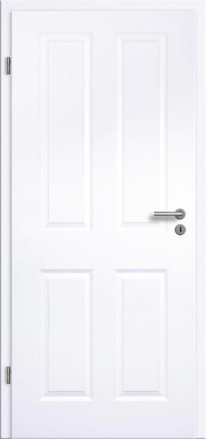 Tür Weißlack Rundkante 4G