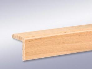 Winkelleiste 28 mm x 28 mm aus Massivholz (Stärke 5 mm)