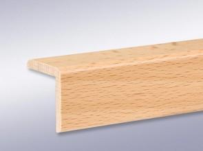 Winkelleisten 35 mm x 35 mm aus Massivholz (Stärke 5 mm)