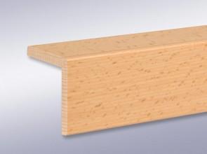 Winkelleisten 60 mm x 60 mm aus Massivholz (Stärke 10 mm)