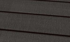 Terrassendiele WPC 22 x 143 mm massiv dunkelgrau sägerau grob