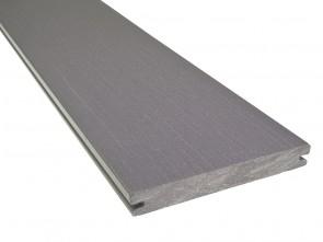 WPC Diele Basaltgrau Steinoptik 21 mm x 162 mm (einseitig geprägt, matt)