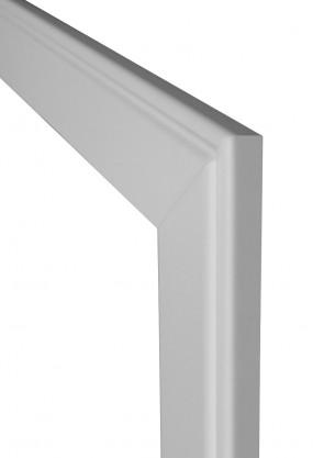 Profilzarge Durchgangszarge CPL Weiß 90 mm