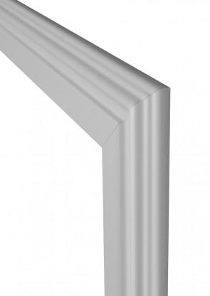 Wohnungseingangstür Zarge CPL Weiß Profiliert 65mm