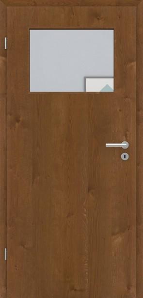 Echtholztür Asteiche furniert | Bronze LA005