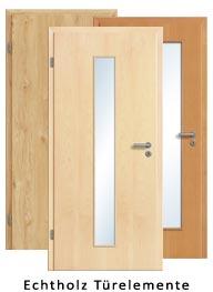 Echtholz Türelemente (Tür + Zarge)