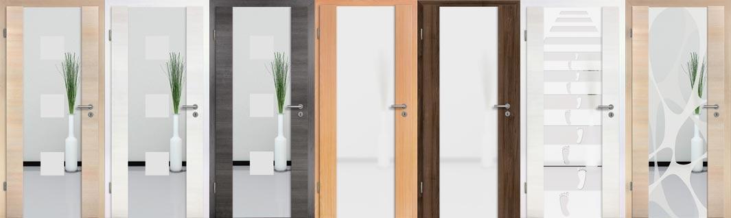 Holzglastür mit Zarge günstig online kaufen