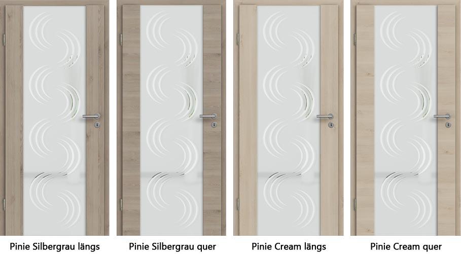 Holzglastüren - CPL Innentür Pinie