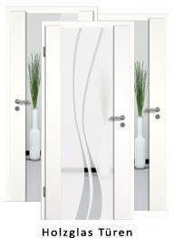 Holzglas-Türen